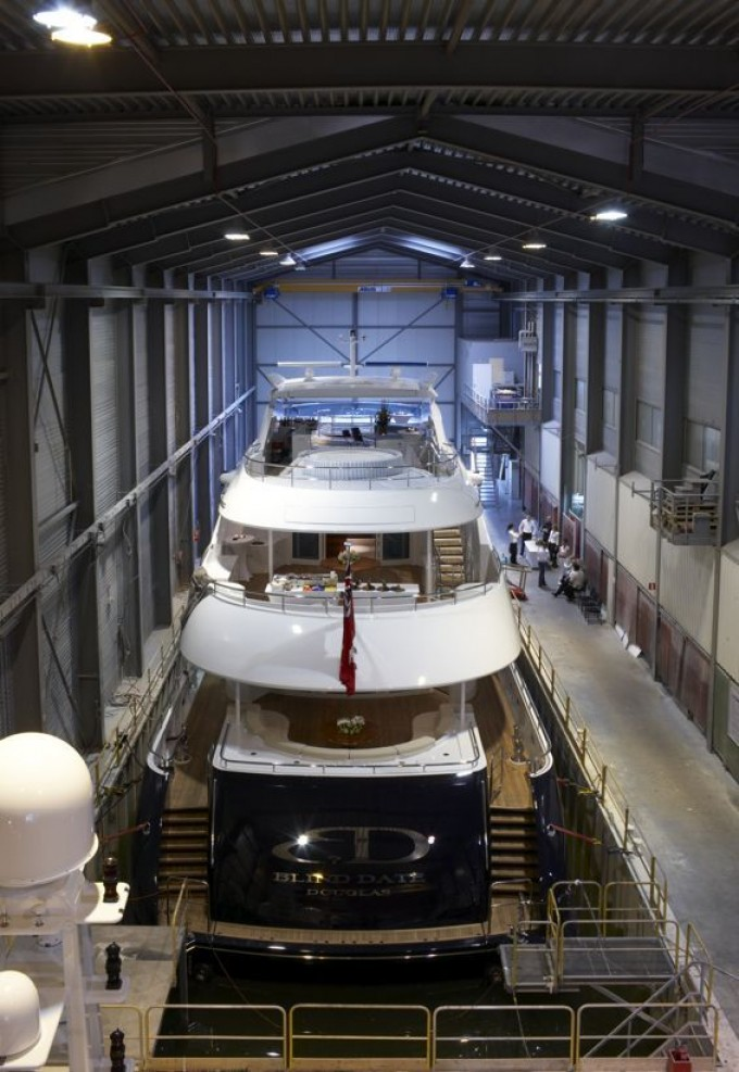Heesen Yacht BLIND DATE Before Launch - Image by Heesen Yachts