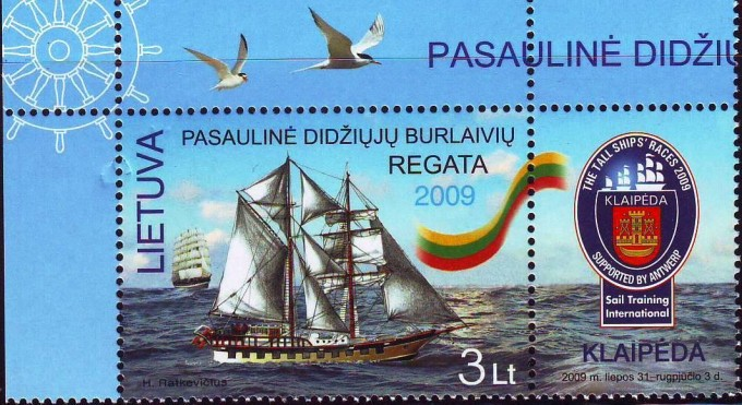 BRABANDER on Lithuvania Stamp