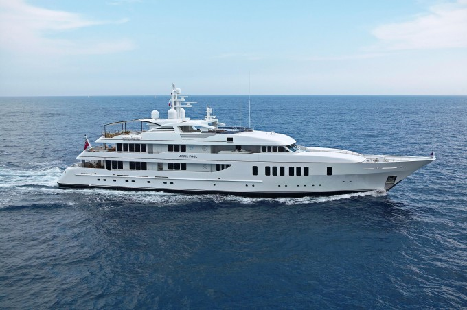 Yacht APRIL FOOL - Image Courtesy of Feadship