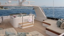 Motor yacht FIRST DRAW - Sundeck