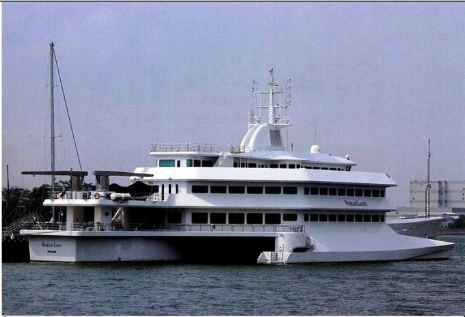 ASEAN LADY - Photo Credit Asia Pacific Boating Magazine November 2007
