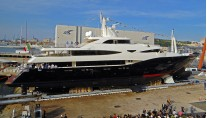 CRN Yacht BLUE EYES at Launch - Image by CRN