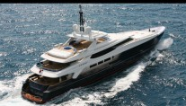 Yacht Blue Scorpion Underway - Image by Baglietto Yachts