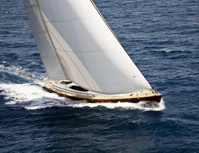 Ludynosa G - Photo Courtesy of Dubois Yachts