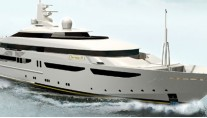 Yacht CLARENA - Rendering by CRN