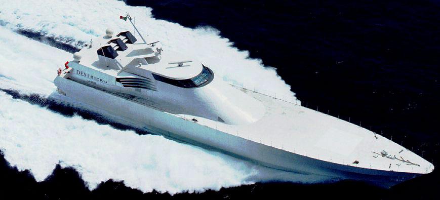 yacht destriero fincantieri yachts fincantieri cantieri
