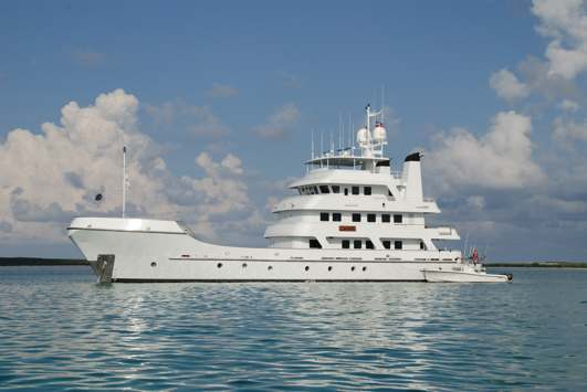 Long Range Yachts - M/V Copasetic - About