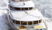 Yacht DOMANI bow - Image By Yacht DOMANI
