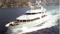 Yacht DOMANI port bow - Image By Yacht DOMANI