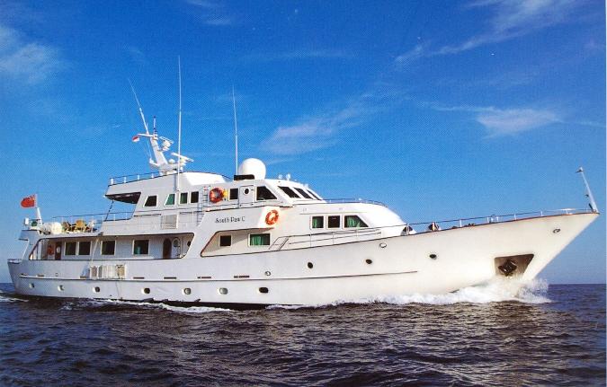 Yacht SOUTH PAW C, Codecasa | CHARTERWORLD Luxury Superyacht Charters