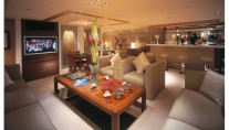 Yacht DELMA Saloon - Image Courtesy of Liveras Yachts