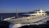 Yacht DELMA Underway - Image Courtesy of Liveras Yachts