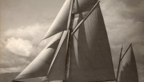 Classic Sailing Yacht Vadura - Photo taken on the Clyde in 1934 by G.L.H Blair, Paisley (FRPS)