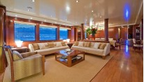 Yacht GRAND CRU Saloon - Image by Benetti