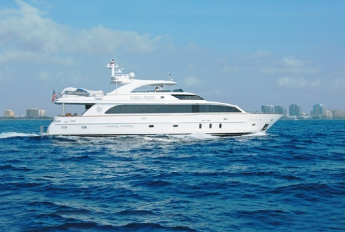 King Baby - Photo Credit Hargrave Yachts