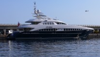Motor Yacht Petra - Photo by Monaco Yacht Spotter
