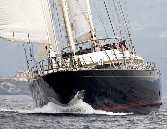 Is a Rose - Courtesy of Perini Navi