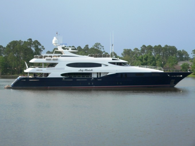 Yacht LADY MICHELLE - Image Courtesy of Trinity Yachts