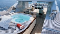 LADY IN BLUE II sundeck - Image by Amels yachts