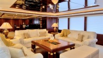 Yacht NOBLE HOUSE Saloon - Image by Sensation Yachts