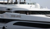 Motor Yacht Silver Angel close up - Photo Credit Monaco Yacht Spotter
