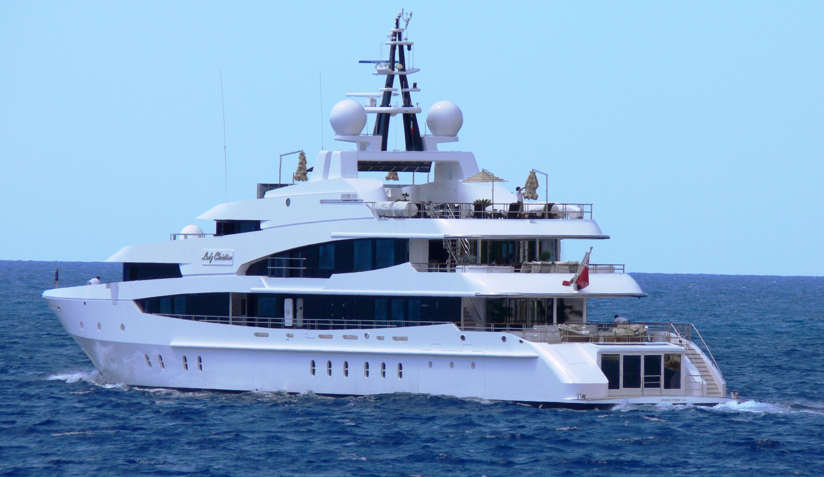 Yacht LADY CHRISTINA, OceAnco | CHARTERWORLD Luxury ...