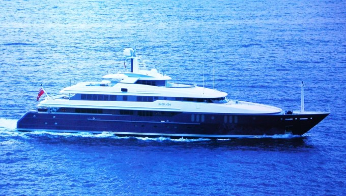 Yacht SARAH - Image Courtesy of AMELS
