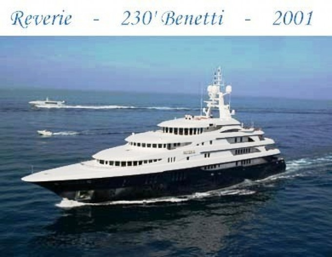 Yacht REVERIE - Image By Benetti Yachts