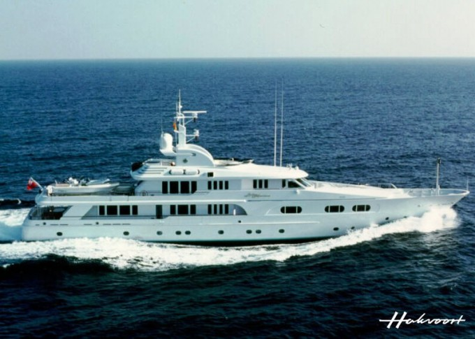 Yacht LADY M - Image by Hakvoort