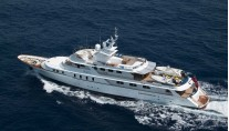 Yacht Mary Jean Underway - Image by Cantieri Navali