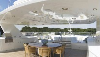 Yacht MIRGAB V Sundeck - Image by Burger Yachts