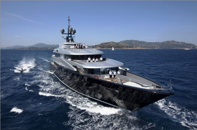 Motor yacht Slipstream - Photo Credit CMN Yachts