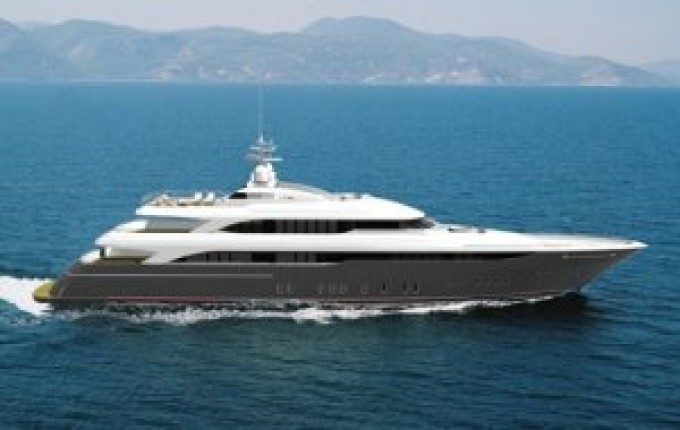 Yacht OPTASIA Now called Victory - Underway