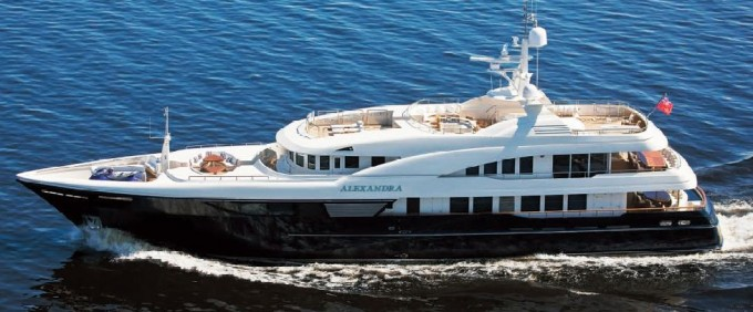 Alexandra - Photo Credit Vripack Naval Architects