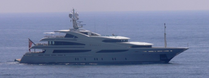 Yacht XANADU - image by LiveYachting