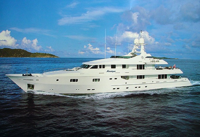 Info Page for Motor Yacht MOSAIQUE by Proteksan Turquoise