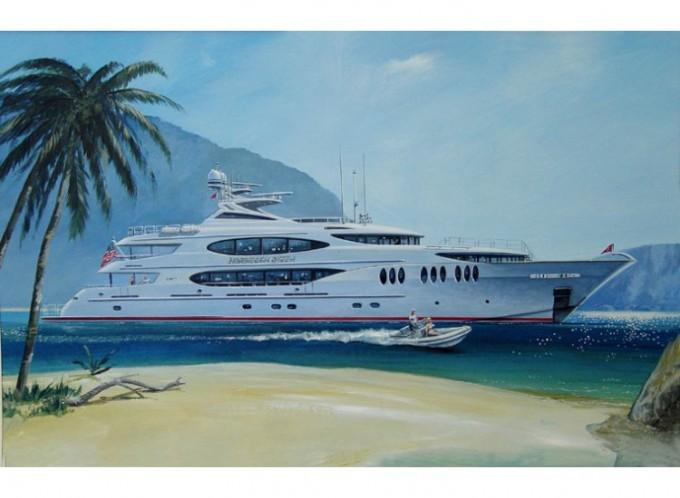 the trinity motor yacht norwegian queen ii. Black Bedroom Furniture Sets. Home Design Ideas