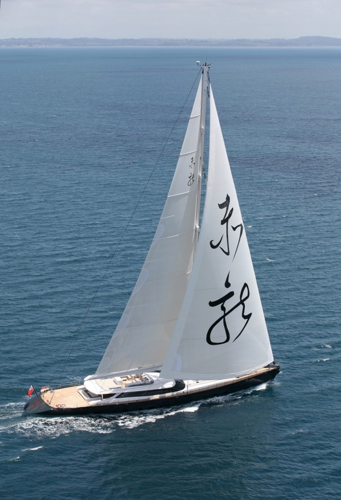 Yacht RED DRAGON - Image Courtesy of Millenium Cup New Zealand