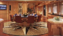 Yacht Sea Shaw II Dining - Image By Mulden Design