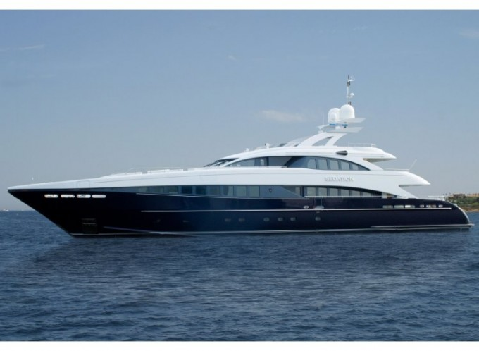 Yacht SEDATION - Image Courtesy of Heesen Yachts