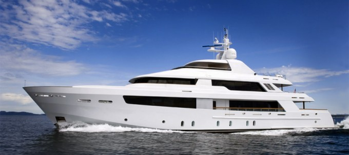 Yacht AFTER EIGHT - Image Courtesy of Northern Marine
