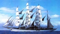 Sailing yacht SEA CLOUD