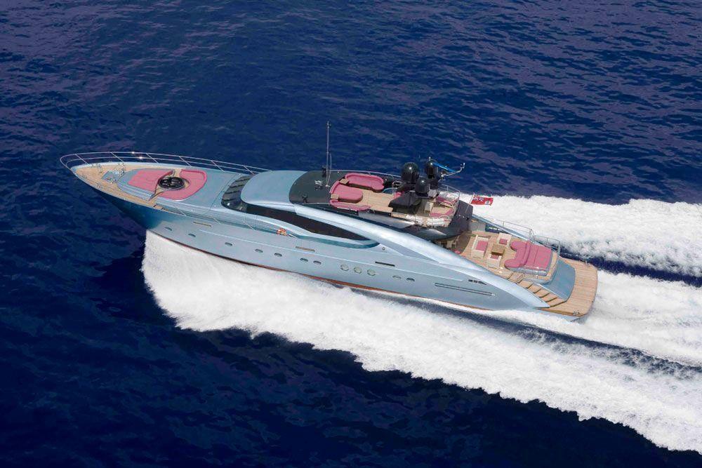 Yacht DRAGON, Palmer Johnson Yachts   CHARTERWORLD Luxury Superyacht Charters
