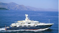 Yacht ENTERPRISE V Underway - Image by Feadship