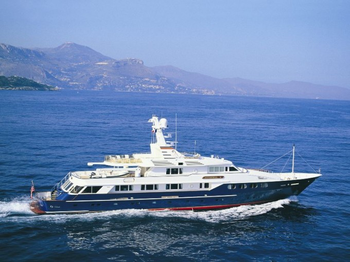 the feadship motor yacht enterprise v charterworld