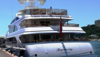 Motor Yacht DYNASTY Stern - Thanks to LiveYachting