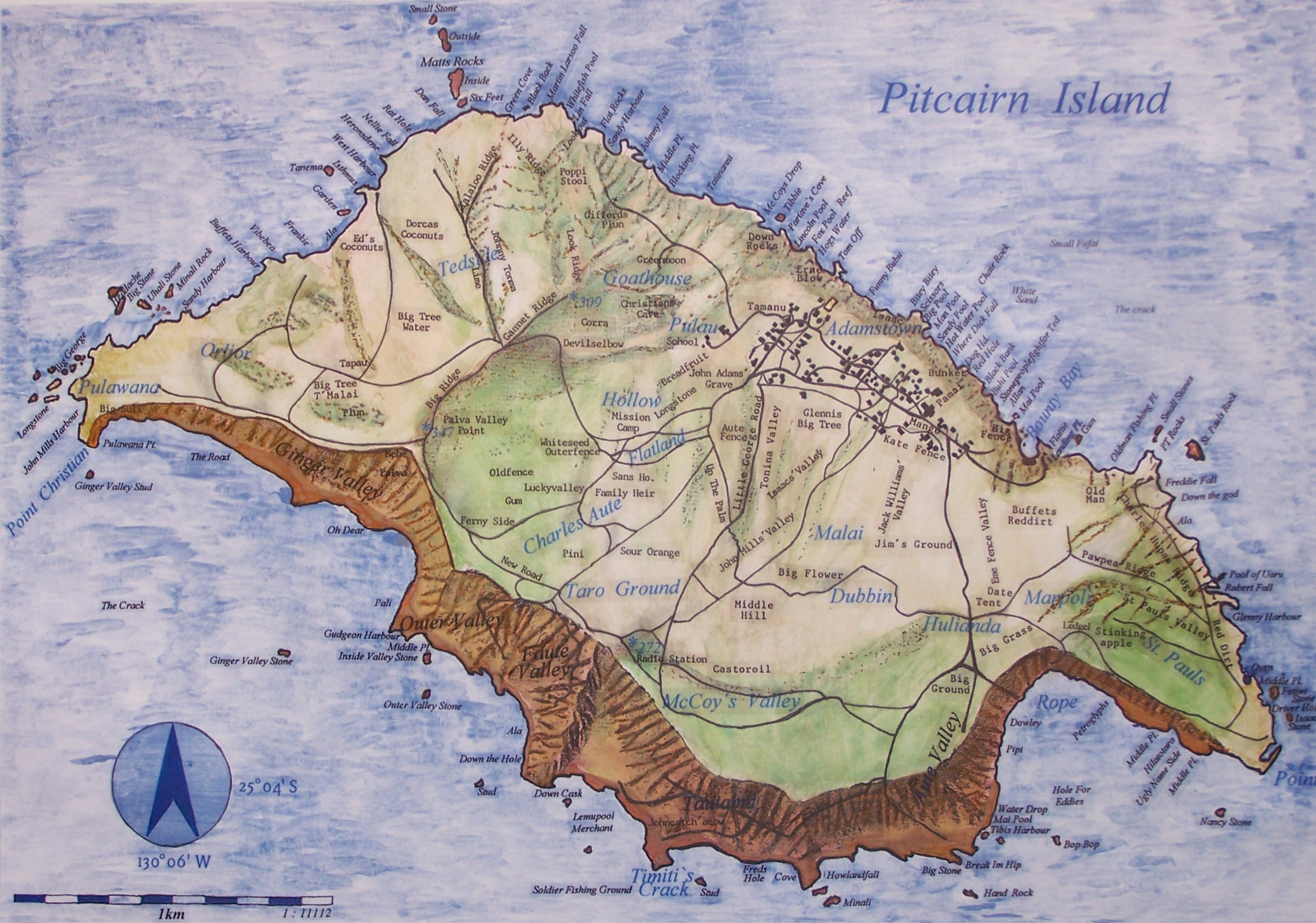 CharterWorld Pitcairn Islands Yacht Charter Vacations In The South - Pitcairn island one beautiful places earth