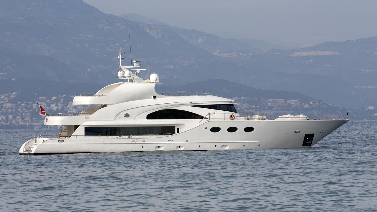 luxury yacht fathom