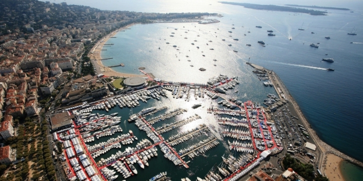 Cannes Film Festival From Above - Port Plaisance