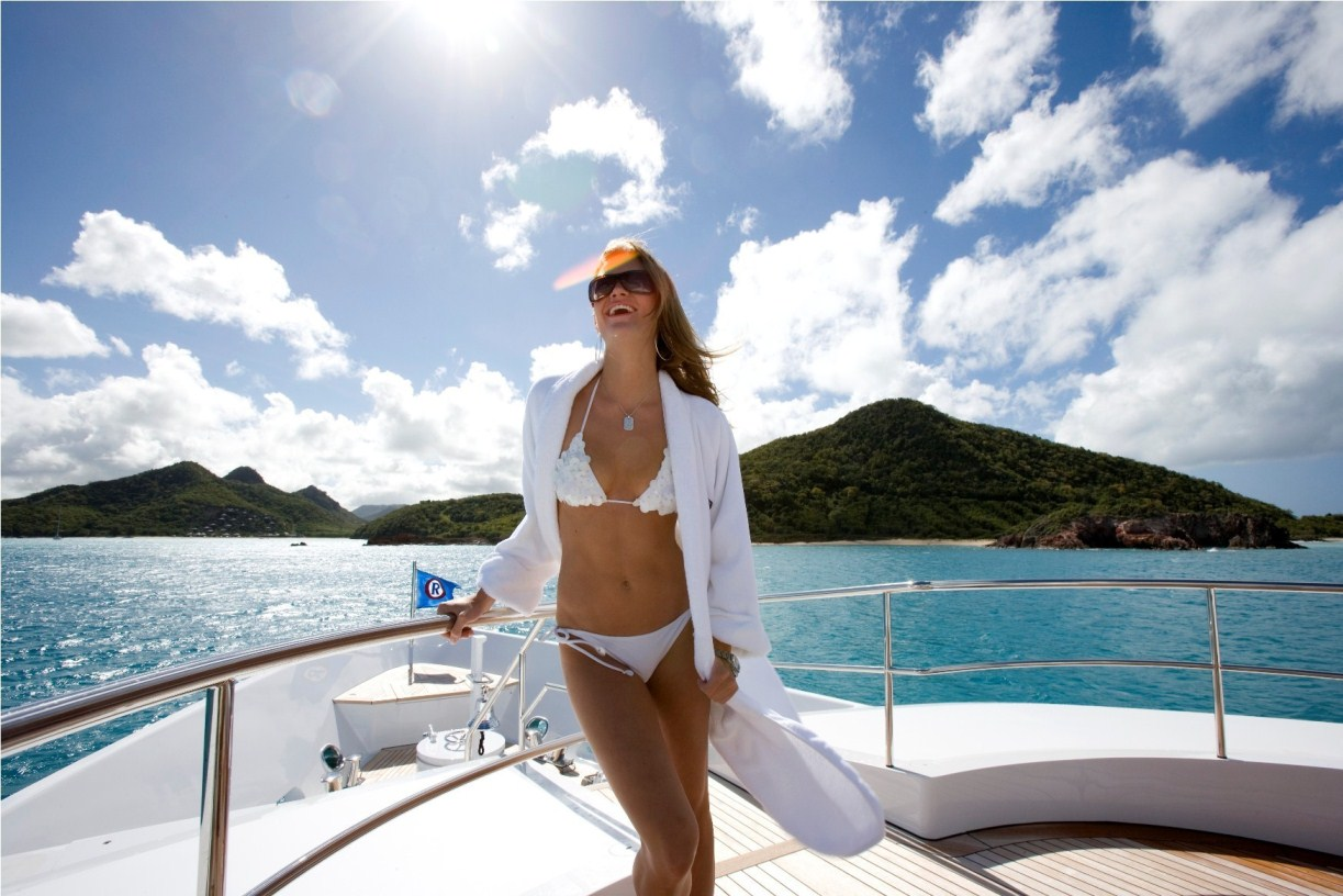 /Caribbean Yacht Charters by Alexis Andrews
